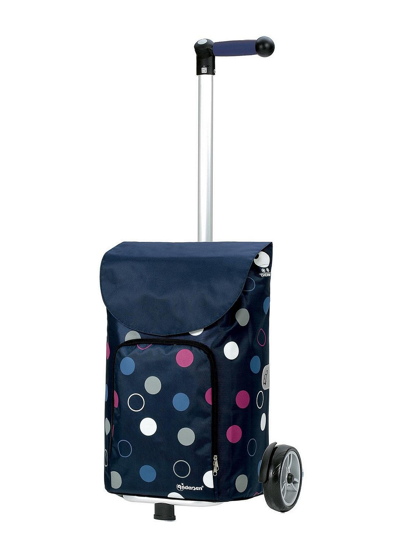 a5615a24f486e Nákupná taška na kolieskach Unus Shopper Kira tmavo modrá | Tašky na ...
